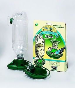 Soda Bottle Window Wild Bird Feeders Green You Get 6 Bird Feeding Kits