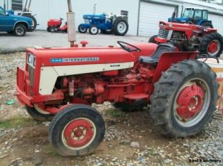 International Harvester 444 Farm Tractor Diesel