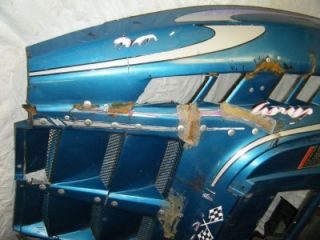 97 Polaris Indy 700 SKS RMK Euro Snowmobile Motor Engine Cover Body Nose Hood