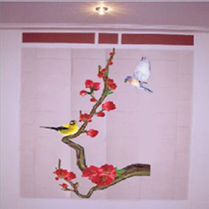 Japanese Apricot Tree Birds Home Decor Art Wall Sticker Mural Wall Paper Decal