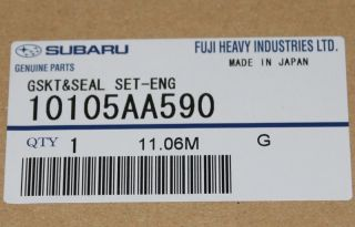 Genuine Subaru Engine Gasket Kit EJ257 '04 '06 STI
