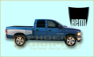 2003 2004 2005 2006 2007 2008 2009 Dodge RAM Truck Billboard Decals Stripes Kit