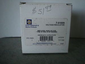 Voltage Regulator for Onan John Deere 318 420 Napa P N 7 01699 Onan 191 1748