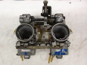 1994 1996 Yamaha VMAX 600 Snowmobile Engine 38mm Mikuni Carburetors Carbs