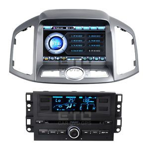 ETO 8'' Headunit for Chevrolet Captiva 2012 in Car Stereo Radio GPS Navigation
