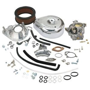 S s Super G Carb Carburetor Kit Harley Davidson EVO Big Twin Model Engines