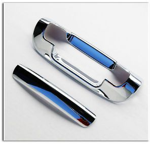 99 01 02 03 04 Jeep Grand Cherokee Chrome Tailgate Lift Gate Handle Cover Door