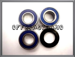 Rear Wheel Axle Bearing Kit KTM 2003 Adventure 640 1999 Super Moto 640 Seal Set