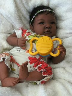 Beautiful Realistic AA Reborn Baby Girl from A 'Shyann' Sculpt