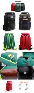 Rucksack Travel Big Bag Unisex School Backpack College Student Book Bags P8029