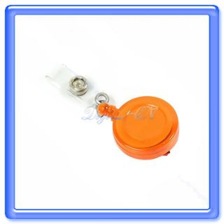 New 5 Retractable ID Card Badge Holder Reels Clip