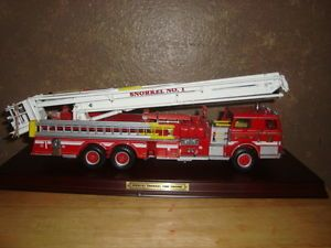 1 32 Franklin Mint Pierce Snorkel Fire Engine N 1 Truck Die Cast Missing Parts