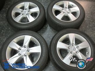 "Four 07 12 Hyundai Elantra Factory 16"" Wheels Tires Rims 70806"