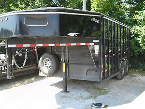 2002 Titan Horse Trailer Converted to Service Trailer 21' Overall Ready to Roll