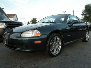 1997 Honda Civic Del Sol vtec Newer SI Wheels New Tires 1 Owner
