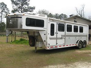 Used 2005 Silver Star Supreme 4 Horse Trailer
