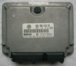 2000 VW Beetle GLS ECU ECM Engine Computer 06A 906 018 EQ 06A906018EQ