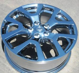 "Set of 4 New 18"" Factory Nissan Rogue Chrome Wheels Rims 62561 FX35 FX45 M35"