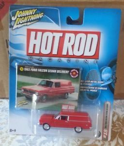 1965 Ford Falcon Sedan Delivery 1 64 Johnny Lightning Hot Rod Magazine Series