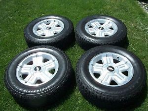 "2013 Chevy Z71 Silverado Tahoe Suburban Avalanche 18"" Wheels Rims Goodyear Tires"