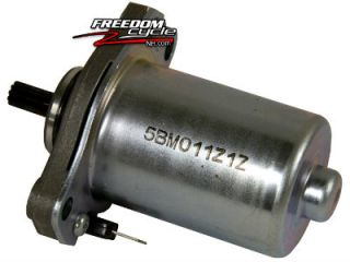 OE Yamaha Vino Classic YJ50 YJ 50 CC Scooter Electric Starter Motor 5BM818000100