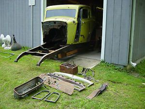 34 Plymouth 5 Window Coupe Suicide Doors Hot Rod Rat Rod Body Old Race Car