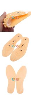 Clean Health Foot Care Magnetic Therapy Thener Massage Insoles Shoe Comfort Pad