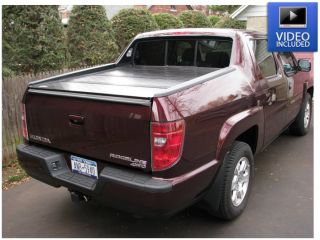 Bak Flip 35601 HD Fold Up Tonneau Cover for Honda Ridgeline Crew Cab