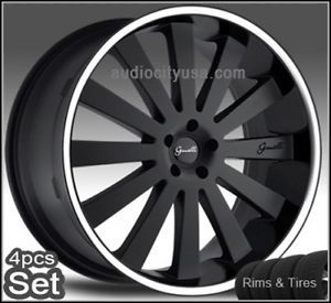 26inch Giovanna Wheels and Tires Tahoe Escalade Chevy Rims Silverado Yukon