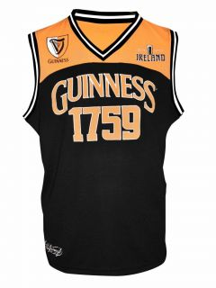 Guinness Stout Beer Basketball Tank Top Shirt Jersey Choose Size