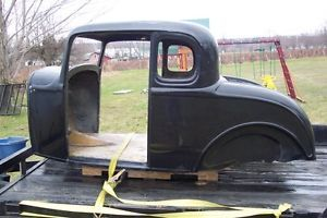 1932 Ford 5 Window Coupe Fiberglass Body 32 Hot Rod Street Rod Rat Rod