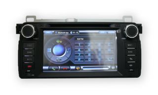 BMW E46 98 05 S60 Model 323 325 328 330 GPS Navigation in Dash Car Stereo DVD