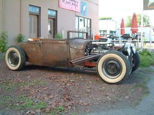 1929 Ford Model A Roadster Ratrod Hot Rod Sports Coupe Hotrod Patina Rod