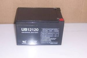 UB12120 12V 12AH Megatredz Yamaha Raptor 700R ATV Ride on Toy Scooter Battery
