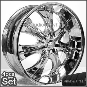 22 inch Rims and Tires Wheels 300C Magnum Charger S10
