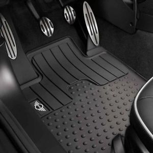 Mini Cooper Roadster 2011 Present Front Rubber Floor Mats All Weather New