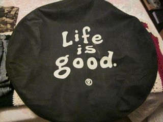 Life Is Good Jeep Spare Tire Cover