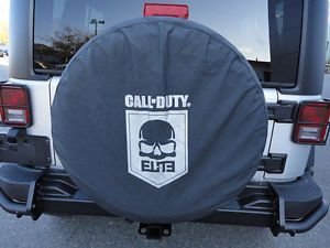 2013 Jeep Wrangler Call of Duty Elite Cod Spare Tire Cover Mopar