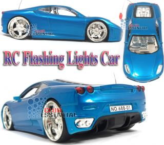 1 24 RC Radio Control Ferrari F430 Perfect Car Battery Toy with Flashing Lights