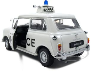 1968 Mini Cooper s Police 1 18 Kyosho Diecast Model Car