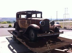 1929 Nash 2 Door Awesome One of A Kind Rat Rod Hot Rod Classic