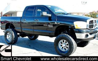 Used Dodge RAM 2500 Lifted 4x4 Truck Monster Trucks 4WD Offroad Mud Tires 4DR