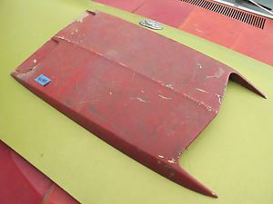 Ford Torino Fairlane Ranchero Mustang Turn Signal Hood Scoop w O Lights