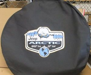 Wrangler Artic Spare Tire Cover 82213230 Jeep JK TJ Mopar