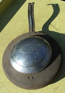 Vintage Model A 32 Ford Spare Tire Cover Hot Rat Rod Deuce Coupe V8 Flathead