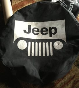 Chrysler Jeep Spare Wheel Tire Cover CJ7 CJ5 Wrangler