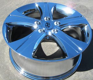 "Exchange Your Silver 4 17"" Factory Hyundai Elantra Coupe Chrome Wheels Rims 2013"