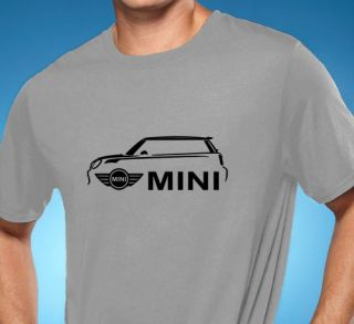 Mini Cooper Classic Car Tshirt New