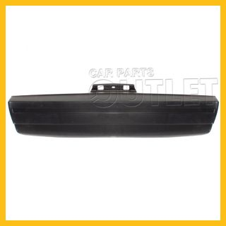 1982 1987 Chevy Camaro Rear Bumper Cover Primered Black Plastic Lt Berlinetta