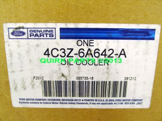 2005 2007 Ford Super Duty 5 4L 6 8L V8 Engine Oil Cooler New Genuine